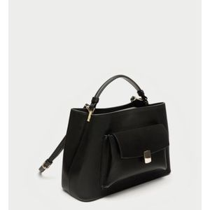 Black city bag